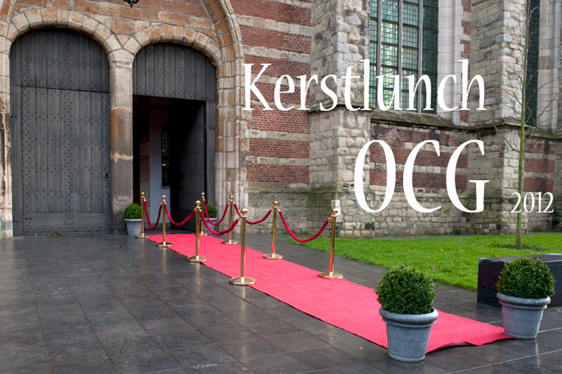 OCG Kerstlunch 2012